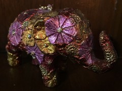 Bejewelled - 06/07/16 (Visualise it) Tags: bejewelled elephant iphone 366