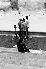 No Pressure (Smith-Bob) Tags: candid street people woman women man men dude dudes blacknwhite bw blackwhite rome roma italy italia europe projectmanager architecture architect trevifountain empty clean restore restoration