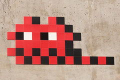 le-de-France 94 (PA_1195) (Meteorry) Tags: street red paris france art wall rouge march europe ledefrance spaceinvader spaceinvaders tiles invader autoroute runner pixels rue mur idf artderue 2016 carrelage carreaux autoroutedusoleil meteorry lekremlinbictre a6b lekremlinbictre invaderwashere pa1195