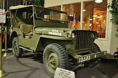 Don Laughlin's Classic Car Collection (USautos98) Tags: jeep 4x4 military wwii worldwarii mb 1941 willys slatgrille