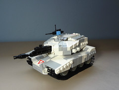 "Type 37 ""泰坦"" MBT (Empty Sandbox) Tags: jack tank lego titan mbt purge type37 thepurge emptysandbox"