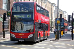 7 May 2013 Wimbledon (togetherthroughlife) Tags: bus may wimbledon 163 londongeneral 2013 e147