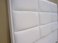 Cabecero de cama Ref.102 blanco (cabecerosdecama) Tags: cama habitación dormitorio complementos decoración interiorismo cabecero cabezal tapizado softina