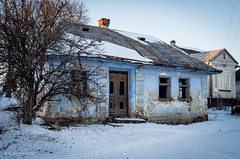 Abandoned By the Main Road. Photo 1 (Oleh Zavadsky (travelling)) Tags: leica abandoned architecture village decay country ukraine x galicia x2 xseries   galizien   ternopilregion   leicax2 ternopilskaoblast leicax2gallery  darakhiv