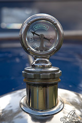 Cool (Dan40D) Tags: car canon silver cool ornament hood normal morris 1928 boiling 6d eurofest