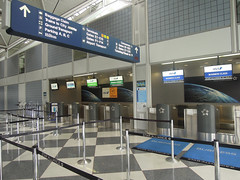 NH & LH check in counters, O'Hare International (kevincrumbs) Tags: chicago ana airport nh lh ord lufthansa chicagoohare kord ohareinternational allnipponairways