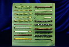 Asbestos Electrical Wire Sample Display 1 (Asbestorama) Tags: cord wire display sample electrical appliance asbestos nonasbestos
