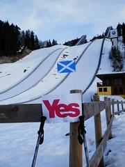 YesScotland campaign publicity in Austria, March 2013 (Scottish Political Archive) Tags: austria scotland yes publicity campaign yesscotland 2014referendum
