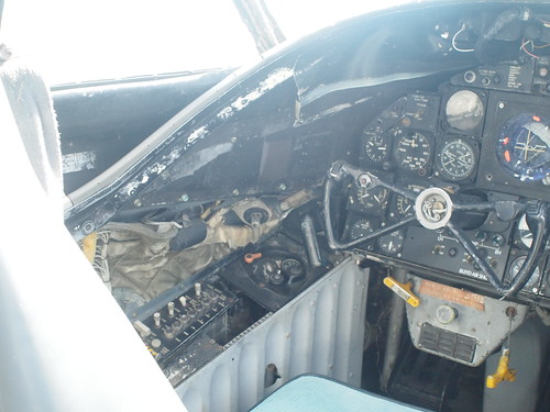 Douglas EKA-3B Skywarrior cockpit P5120771