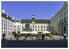 Sisi Museum in Hofburg palace, Vienna (Nithi clicks) Tags: vienna old city sculpture house building history window monument statue architecture facade yard square person austria town europe european exterior place artistic roman platz famous capital sightseeing royal sunny landmark palace front historic human empire imperial historical innercity osterreich oldtown interest sisi austrian hofburg touristic decorated wienn burghof heldenplatz ornamented sisimuseum hofburgpalace