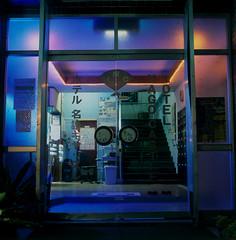 lobby (akira ASKR) Tags: fuji okinawa  provia100f hasselblad500cm nago rdpiii