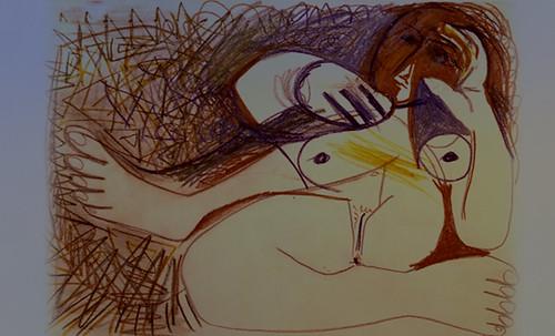 "Majas, homenajes de Francisco de Goya y Lucientes (1802), Eugéne Delacroix (1826), Amadeo Modigliani (1916), Pablo Picasso (1906), (1931), (1959), (1964). • <a style=""font-size:0.8em;"" href=""http://www.flickr.com/photos/30735181@N00/8747971436/"" target=""_blank"">View on Flickr</a>"