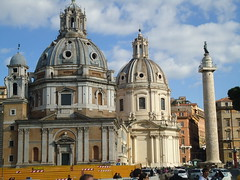 Costa Pacifica Cruise Nov 2012 - Rome (covboy2007) Tags: cruise italy costa rome roma church italian mediterranean italia catholic roman maria mary columns churches santamaria column trajan romans trajanscolumn catholicchurches santamariadiloreto costacruise holynameofmary churchofsantamariadiloreto churchoftheholynameofmary