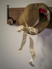 Around the Church: Old Straw Hat (Entropic Remnants) Tags: pictures life old church photography photo still image photos pics colonial picture pic images panasonic photographs photograph f28 remnants entropic gx1 1235mm dmcgx1