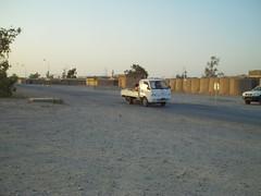Bongo Truck on COB Speicher (ibgrunt) Tags: iraq cob speicher tikrit