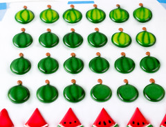 Royal Icing Watermelon Templates. 6 templates to chose from. (thebearfootbaker) Tags: fruit transfer template royalicing layon cupcaketoppers watermelonthebearfootbakerthebarefootbaker