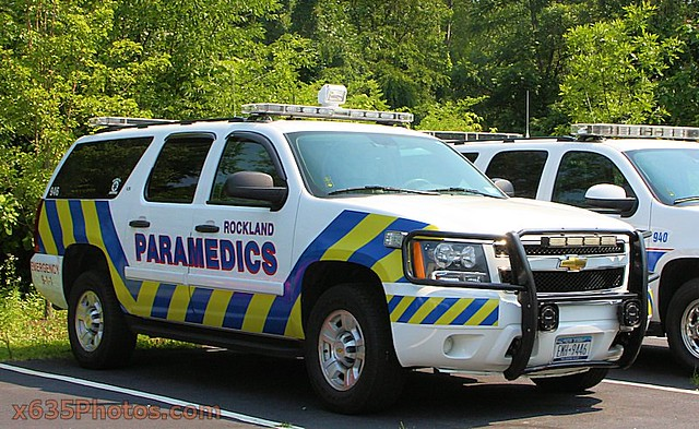 chevrolet suburban service paramedic 2009 unit rockland 946