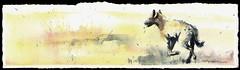 run (Jennifer Kraska) Tags: art watercolor jennifer hyena kraska jenniferkraska