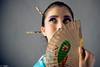 image-1 (stiqqo) Tags: colors girl japan studio fly sticks eyes image background wear nippon kana девушки девушка студия платье япония образ краски фон синее японская палочки макияж японка бирюза веер мейк