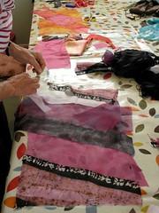 Felt Fabric Design - 29 June 13 (ArtisOn Masham) Tags: workshops feltmaking masham sheilasmith artison craftworkshops feltfabricdesign