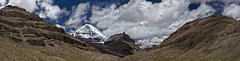 Astapad Panorama with Kailash and Nandi (L I C H T B I L D E R) Tags: china panorama tibet nandi himalaya kailash southface westerntibet astapad