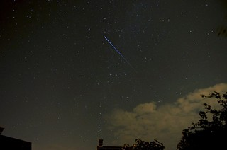 International Space Station Passing Over Plymouth UK Heading for M31