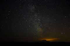Milky Way Over Rainier (zreyn) Tags: metal favorites rainier contender zreynsfavs zreyn