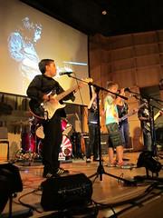 IMG_4299 (NYC Guitar School) Tags: nyc guitar school performance rock teen kids music 81513 summer camp engelman hall baruch gothamist plasticarmygirl samoajodha samoa jodha