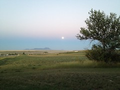 Moon Rise over the Sweet Grass Hills (Damalo Photo) Tags: moon montana hills rise sweetgrass