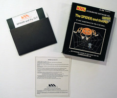 Spider and the Fly (dustlayer) Tags: ntsc disk c64 commodorec64 packagecontent