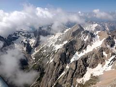 Cime (Alberto Panizzolo) Tags: montagne nuvole grigio alberto cielo neve vista roccia alto azzurro bianco marmolada cime panizzolo