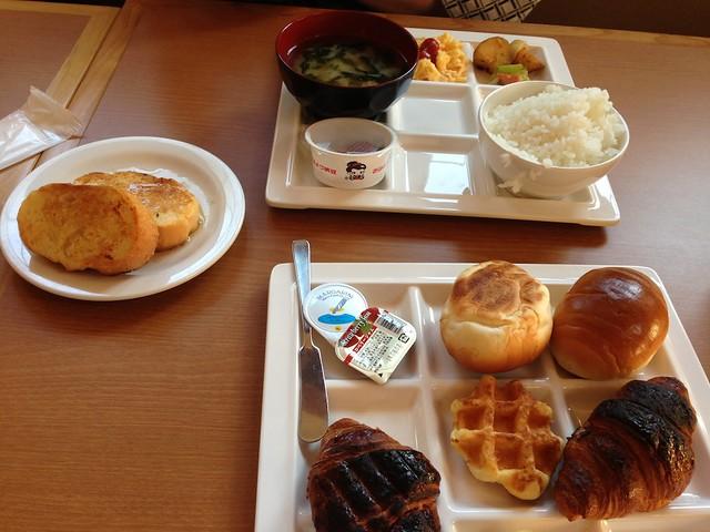 こちらは大人の朝食。|ホテルグリーンプラザ軽井沢