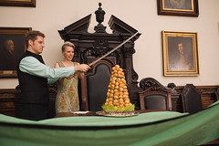 JJwed-492 (Nothing But...) Tags: wedding party philadelphia sword katana array offbeat croquembouche muttermuseum collegeofphysiciansofphiladelphia alternativeweddingcake