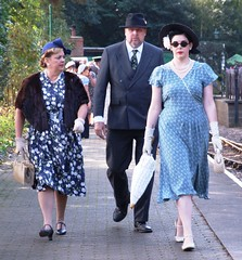 2013_0922 044a (robindefoe2009) Tags: heritage uniform weekend north norfolk railway steam line 1940s poppy holt reenactment sheringham reenactor 40s wartime weybourne