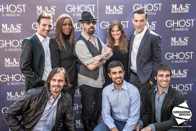 Conferenza stampa Ghost, Il Musical con Dave Stewart @ Teatro Nazionale, Milano - 24 settembre 2013