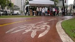 Caf da Manh do Ciclista 2013 - Faria Lima (ciclocidade) Tags: bicicleta ciclista farialima ciclovia dmsc semanadamobilidade ciclocidade cafdamanhdociclista