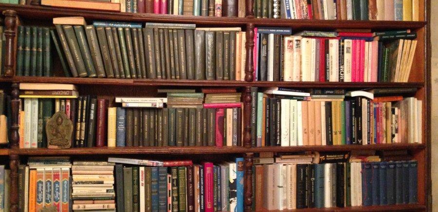 Книжные полки в моём доме