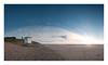 Beach Patrol (A-D-Jones) Tags: ocean life blue sea sky sun tower beach water station set clouds liverpool landscape sand dusk dunes guard rnli merseyside formby