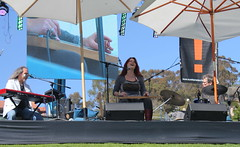 Carolyn Wonderland Makes The Lap Steel Guitar Cry & Sing (trail trekker) Tags: southerncalifornia bluesmusic carolynwonderland bluesguitar venturacalifornia californiabeerfestival