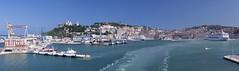 Port of Ancona, Italy (Thomas Mülchi) Tags: italy panorama marche 2013 portofancona