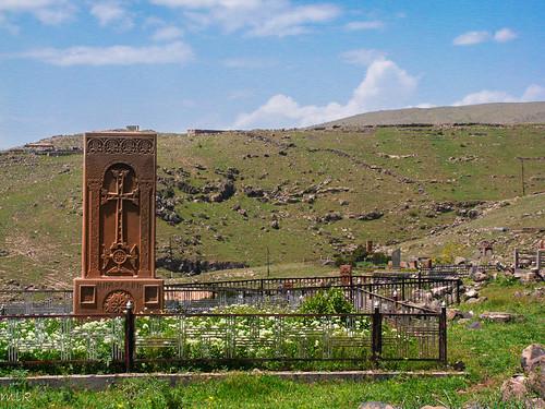 A modern hachkar. Kosh village, Armenia