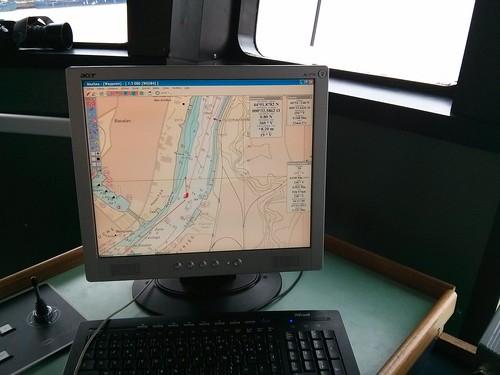 Remontée de l'Estuaire de la Gironde - 13 novembre 2013