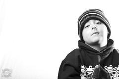 Aaron John (CJ Schmit) Tags: boy portrait blackandwhite bw male monochrome hat canon silver model attitude sweatshirt toned canonef100mmf28usmmacro 5dmarkii canon5dmarkii cjschmit wwwcjschmitcom niksilverefex2 cjschmitphotography