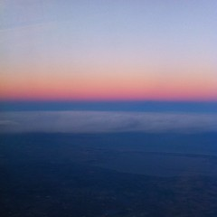 fra le nuvole (elisa scussolin) Tags: blue sunset sky colors clouds flying tramonto top onthetop
