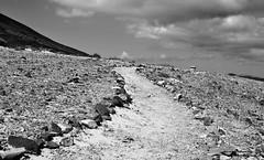 sentiero b&w (tomascecchini) Tags: blackandwhite fuerteventura trail sentiero strade biancoenero canarie