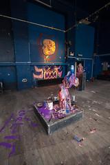 Michael White (artschoolscottst) Tags: party art theend installation gsa destroy toiletroll thevic glasgowschoolofart checkeredfloor michaelwhite theartschool gsoa theassemblyhall