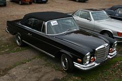1970 Mercedes-Benz 280SE 3.5 Cabriolet (davocano) Tags: auction brooklands w111 carauction classiccarauction historicsatbrooklands fyy573h