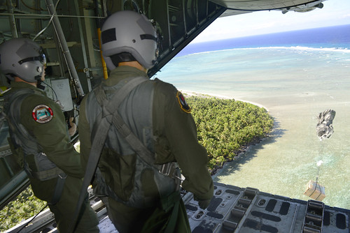 Western Pacific and Micronesia islands during Operation Christmas Drop