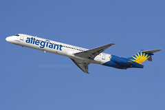 Allegiant Airlines MD-83 (SANspotter) Tags: lax departure md83 allegiant n877ga