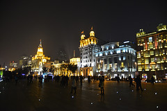 The Bund, Shanghai, China 15/11/2013 (Gary S. Crutchley) Tags: china travel urban tower architecture night buildings river shopping dark evening nikon long exposure nightscape shanghai shot nightshot image time district historic east international revolution after pearl nightphoto oriental nikkor pudong far bund vr cultural afs chen yi d800 the huangpo ifed nightimage 24120mm f3556 nightphotograph